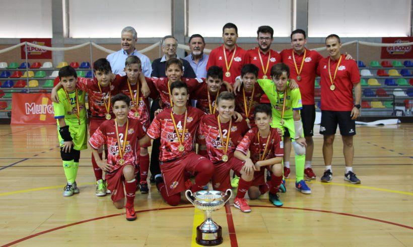 GALERÍA FINAL CTO ESPAÑA ALEVÍN| ¡ElPozo FS Campeón de España Alevín de Clubes 2018!