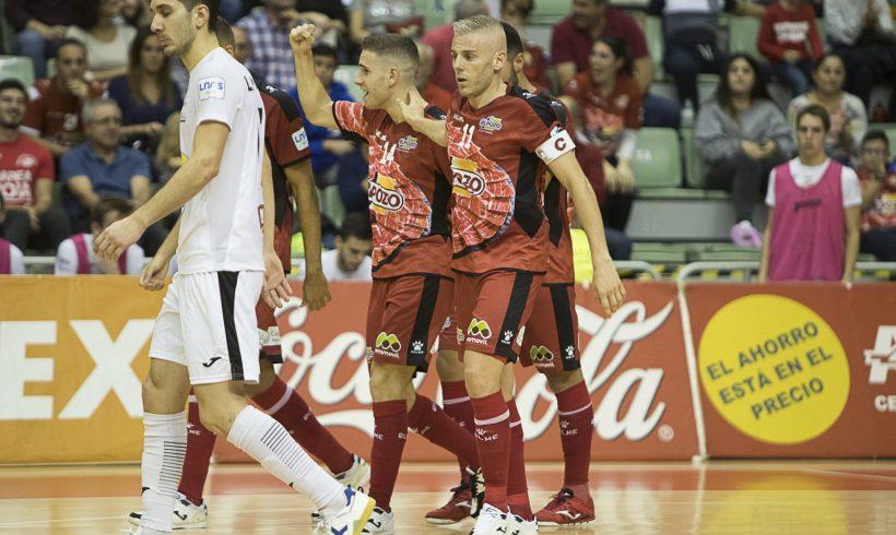 CRÓNICA Jª 6 LNFS  ElPozo Murcia impone su juego ante Aspil Vidal (5-0)