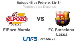 ELPOZO MURCIA vs FC BARCELONA LASSA