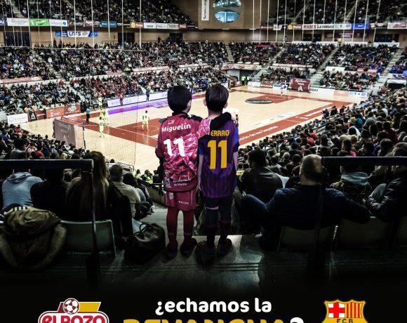 PREVIA Jª 22 LNFS  ¿Echamos la revancha? ElPozo Murcia FS vs Barça Lassa