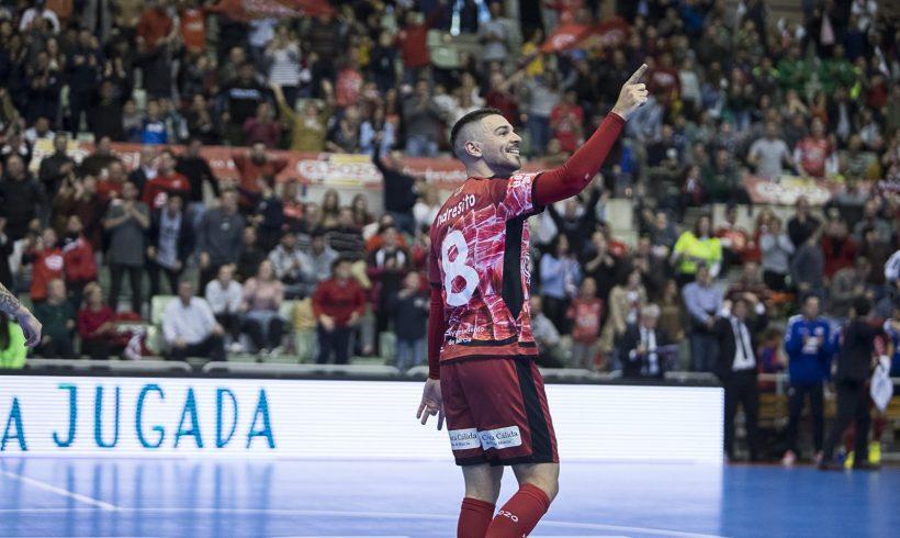 Crónica Jº 26 LNFS  ElPozo Murcia FS empata ante Jaén en el Palacio y mantiene el liderato de Primera División