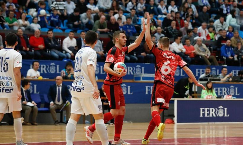 CRÓNICA J° 30 LNFS| ElPozo Murcia FS concluye la Liga regular y se enfrentará a Aspil Vidal en Cuartos 'Play Off'