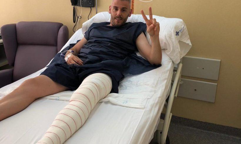 PARTE MÉDICO MIGUELÍN| El capitán ha sido operado del menisco de su pierna izquierda
