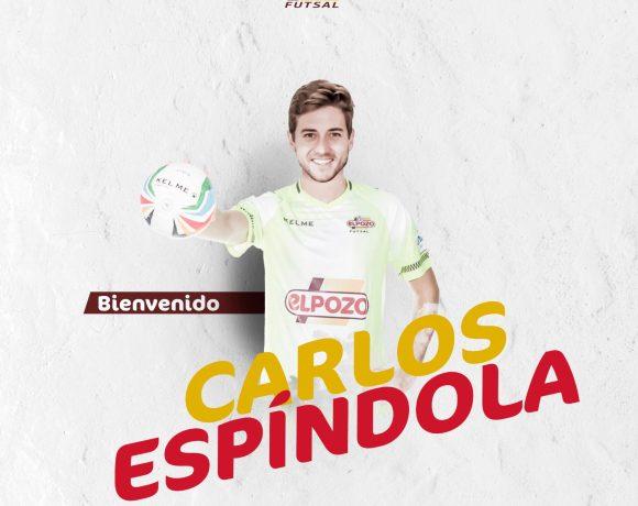 OFICIAL| Carlos Espíndola, nuevo portero de ElPozo Murcia FS