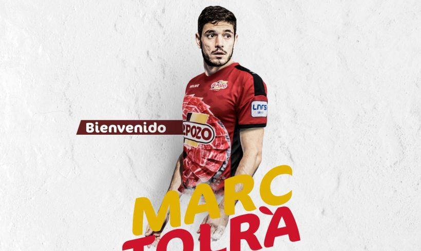 OFICIAL  El cierre internacional con España, MARC TOLRÀ, nuevo jugador de ElPozo Murcia FS