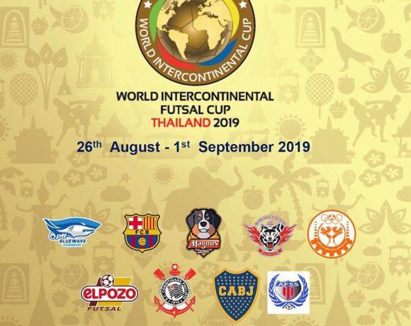 SORTEO COPA INTERCONTINENTAL| ElPozo Murcia FS se enfrentará al vigente campeón, Magnus Futsal, y al iraní Mes Sungun Varzaghan