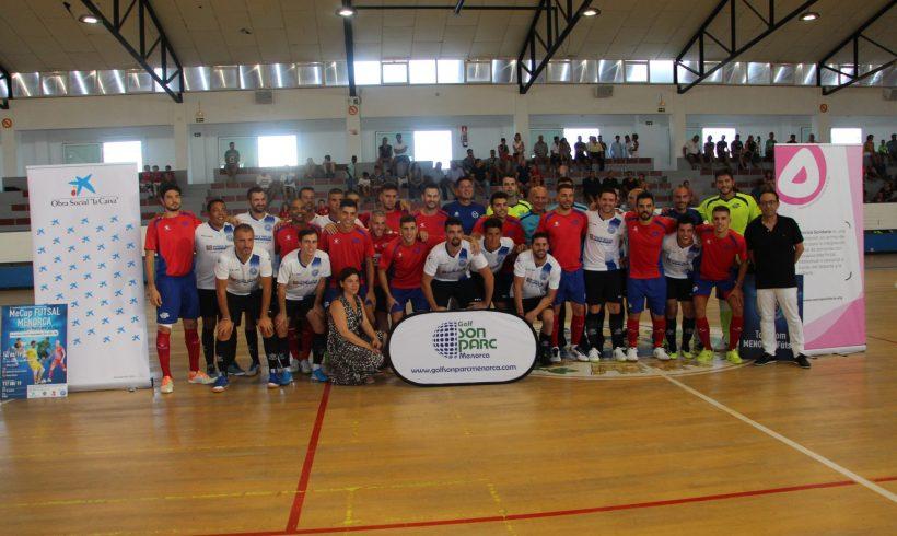 TORNEO Mecup Futsal Menorca  ElPozo Murcia FS disputará la Final ante Palma Futsal