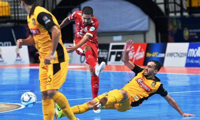ElPozo Murcia FS se queda a las puertas del empate ante Magnus y espera resultados para disputar Semifinales de la Copa Intercontinental