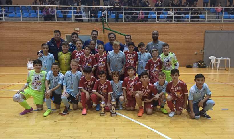 Campeones del I Torneo Internacional Futsal ElPozo Equipos de Base