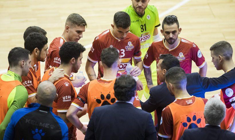 ElPozo Murcia Costa Cálida disputará ante Palma Futsal su partido número 1300 en competición oficial