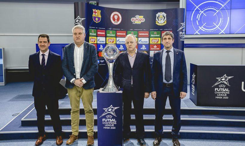 ElPozo Murcia Costa Cálida se medirá al Tyumen en la semifinal de la UEFA Champions League