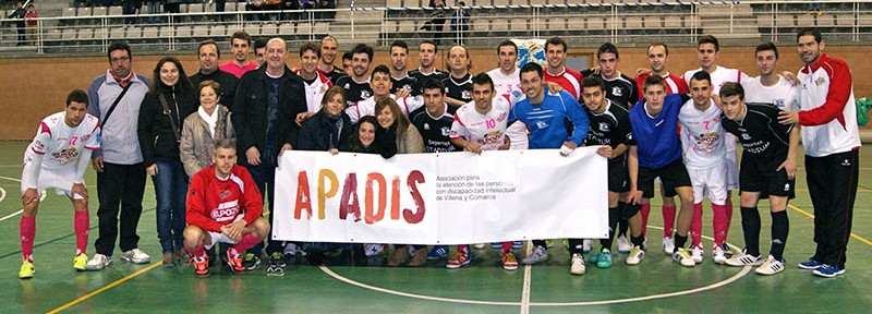 Goles a favor de Cruz Roja local y APADIS en Villena