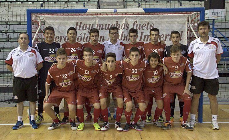 El Cadete logra la victoria frente Abarán FS (7-1)