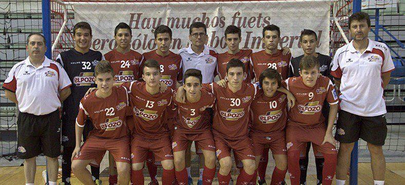 El equipo Cadete Aljucer,  campeón de Liga regional