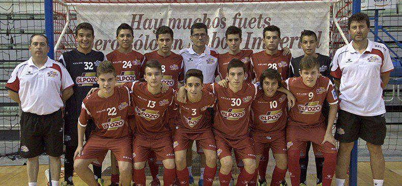 El equipo Cadete Aljucer ElPozo FS, ¡Subcampeón de España!