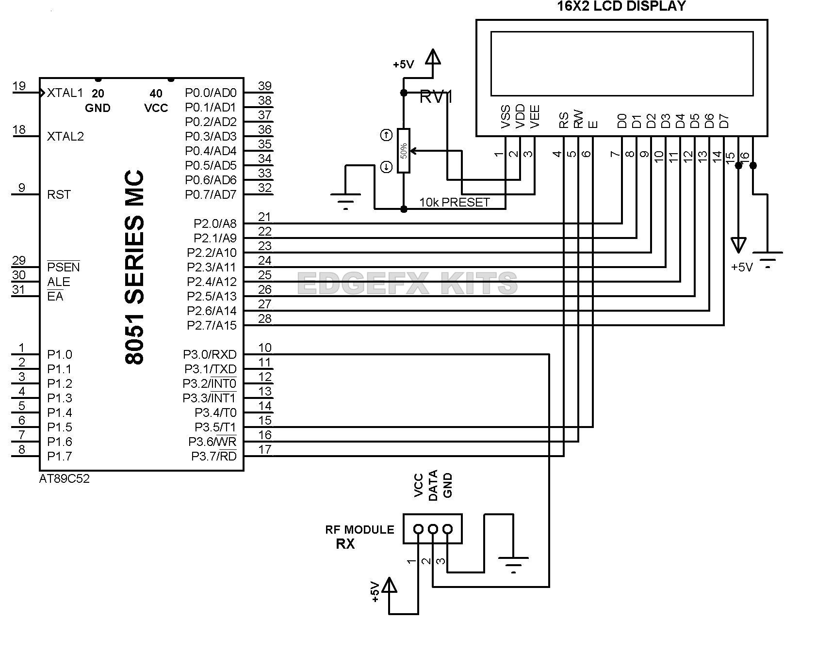 hight resolution of 3pin working of rf receiver module