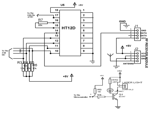 Rf Receiver Circuit Diagram