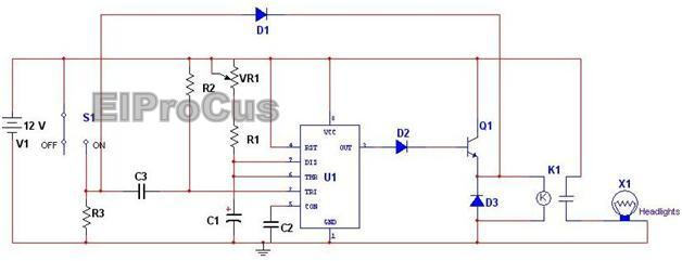 pir motion sensor light wiring diagram simple motorcycle indicator top 10 electronic projects for beginners in 2014 automatic car headlights circuit