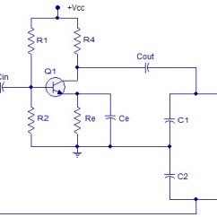How To Draw A Circuit Diagram Iron Carbon Thermal Equilibrium Colpitts Oscillator Working And Applications Of