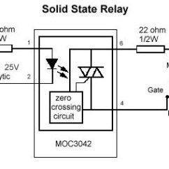 Solid State Relay Wiring Diagram How To Draw Dot Diagrams Relays Three Phase With Zvs