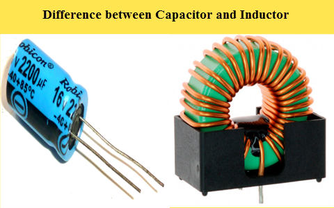 Main Difference Between Capacitor And Inductor
