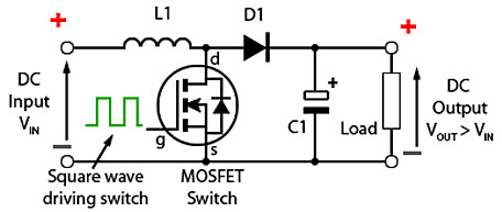 circuit diagram of buck boost converter intermediate switch wiring theory working and applications