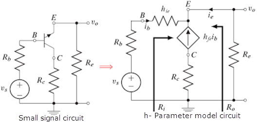 Common Collector Amplifier or Emitter Follower Circuit and
