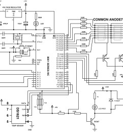 digital temperature controller schematic diagram [ 2858 x 1940 Pixel ]