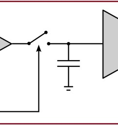 designing of a sample and hold circuit using op amp sample schematic diagram of air pollution control facility sample circuit diagram [ 2000 x 799 Pixel ]