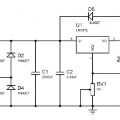 Step Down Transformer Diagram Intermediate Origami Dragon How To Make Variable Power Supply Circuit With Digital Control
