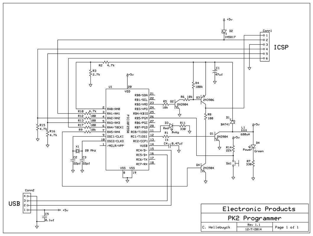 pickit 2 programmer circuit diagram toyota pickup wiring build your own electronic products