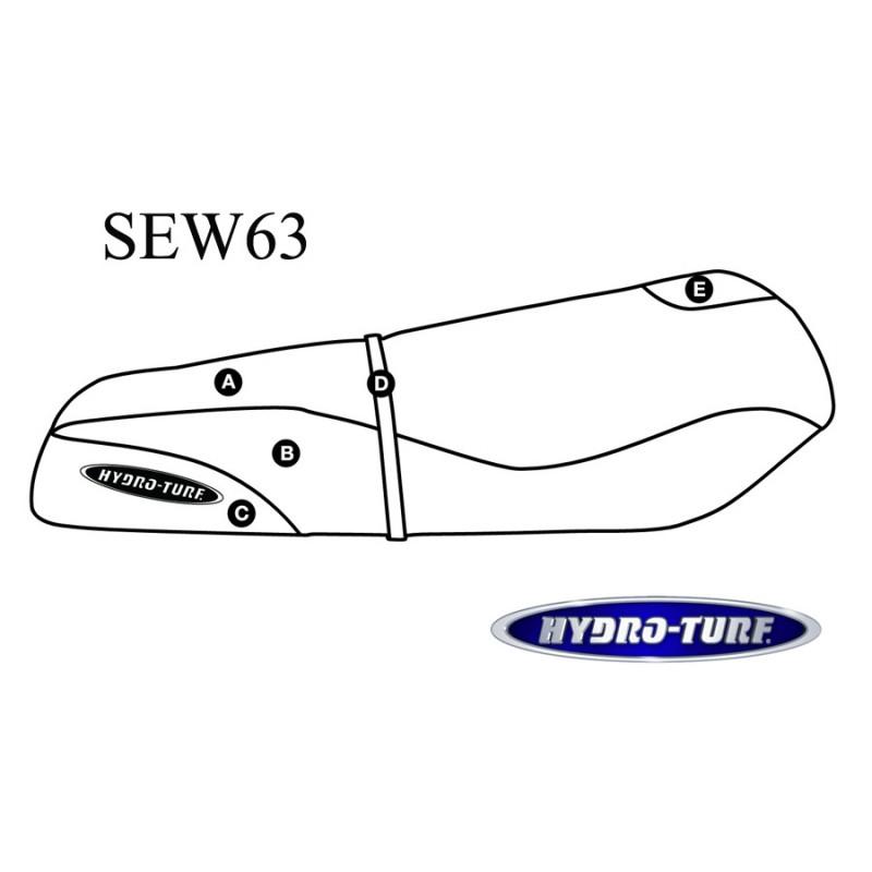 Housse de selle KAW ST / STS / 750 STX & 900 STX (Pre 99)