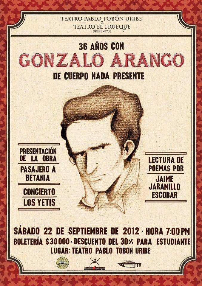 Gonzalo Arango Poemas – Indígena