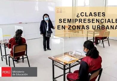 ¿Desde cuando se tiene pensado abrir las escuelas de zonas urbanas? [MINEDU]