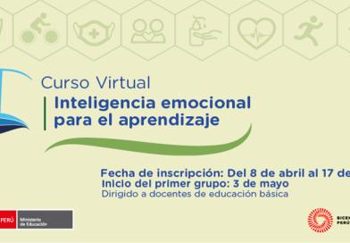 Inscríbete al curso virtual de Inteligencia emocional para el aprendizaje [PeruEduca]