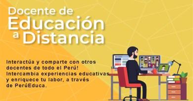 Participa en la Comunidad Virtual de Práctica Docente de Educación a Distancia