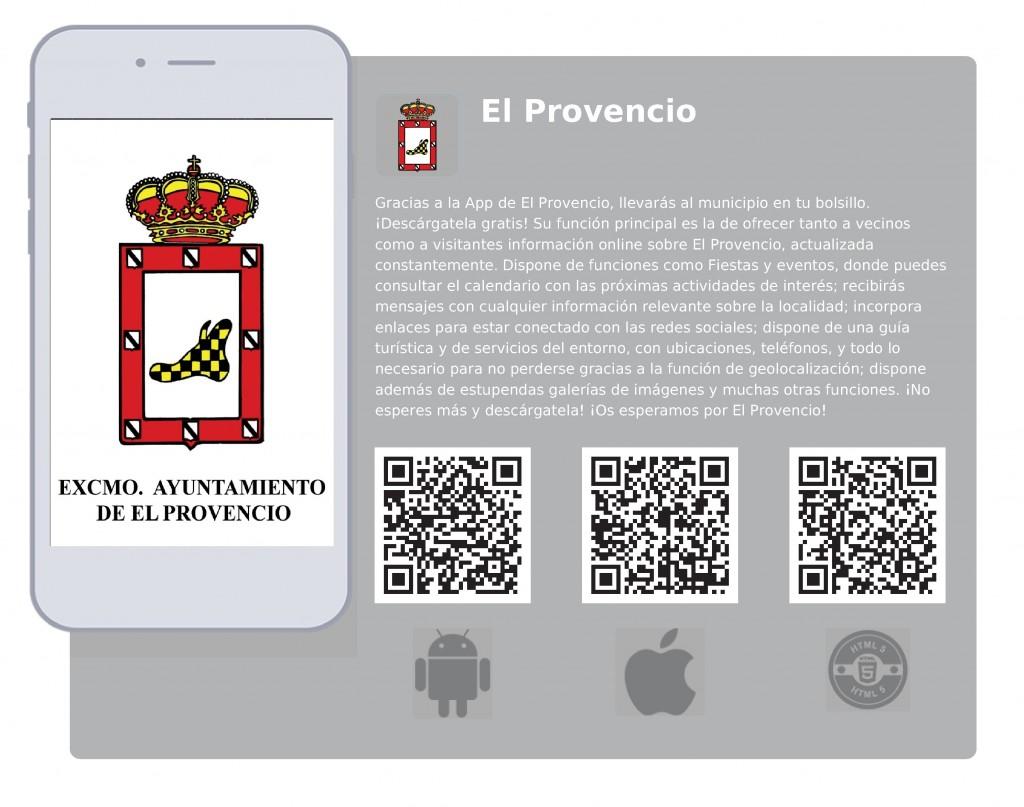 Códigos QR App EL PROVENCIO