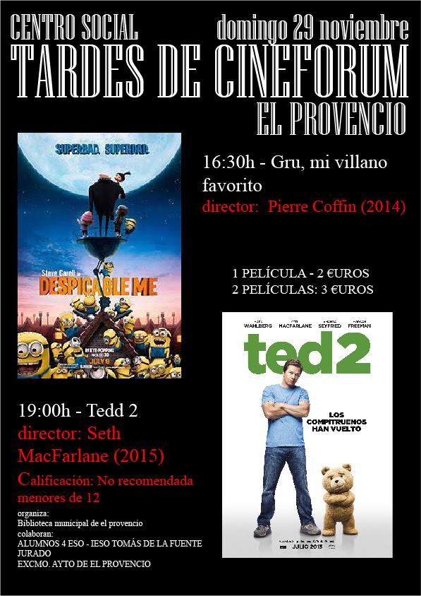 TARDES DE CINE - 4