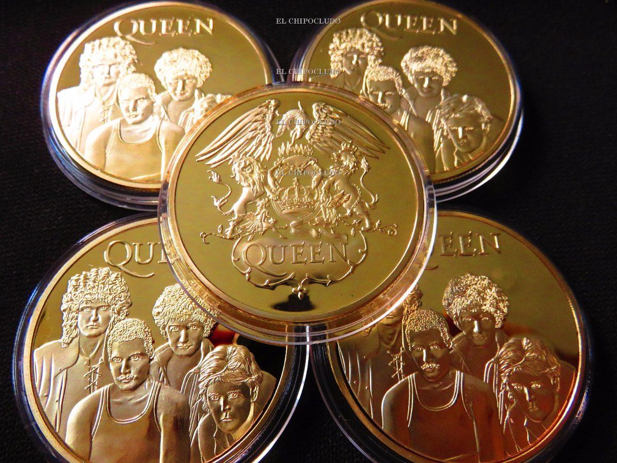 Resultado de imagen para moneda conmemorativa queen