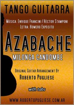 Azabache 🎼 milonga guitarra. Con video y tab