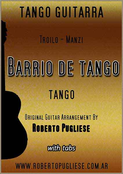 Barrio de tango 🎼 tango guitarra