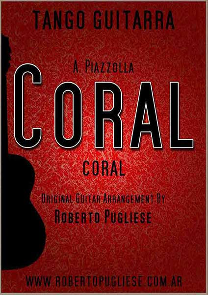 Coral Piazzolla 🎼 guitarra partitura