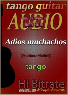 Adios muchachos 🎵 tango en guitarra. Mp3