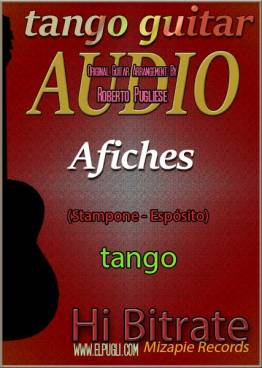 Afiches 🎵 tango en guitarra. Mp3