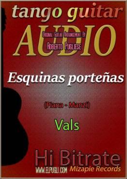 Esquinas porteñas mp3 vals en guitarra por Roberto Pugliese