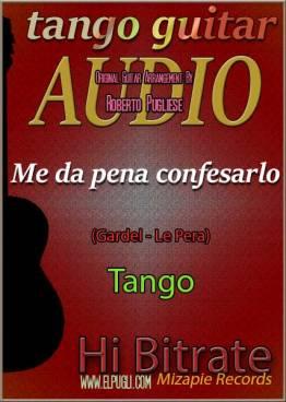 Me da pena confesarlo 🎵 mp3 tango en guitarra