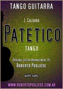 Patetico 🎼 partitura del tango en guitarra. Con video