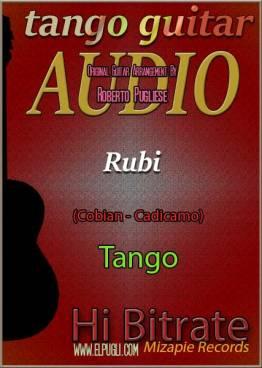 Rubi 🎵 mp3 tango en guitarra