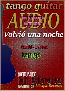 Volvió una noche 🎵 mp3 tango en guitarra