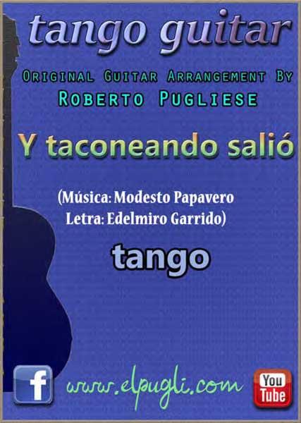 Y taconeando salió 🎵 mp3 tango clásico en guitarra